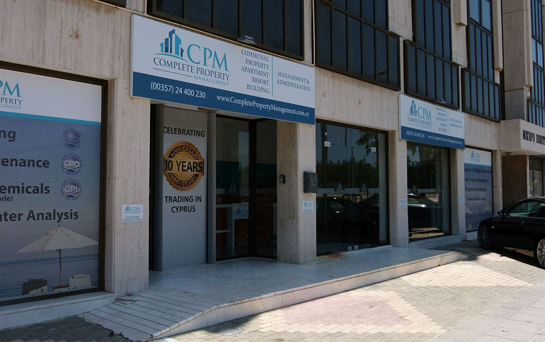 Complete Property Management Larnaca Head Office
