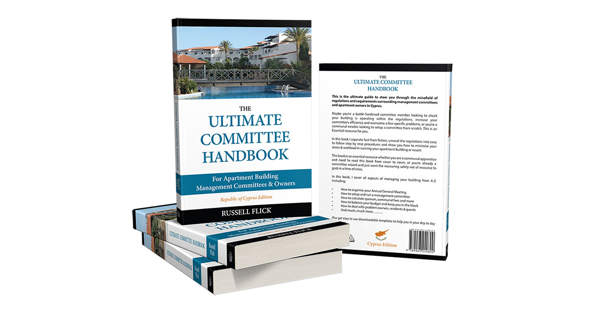 Bookcover - Ultimate Committee Handbook